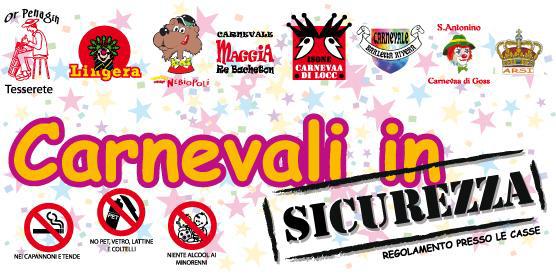 Carnevale in sicurezza