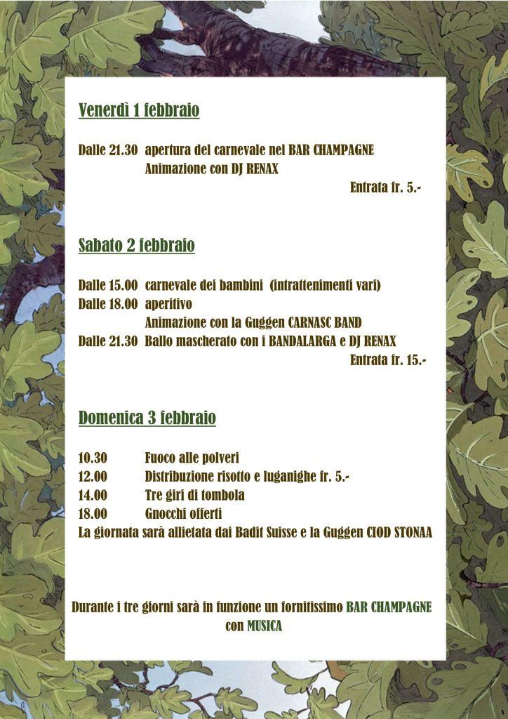Programma edizione 2019